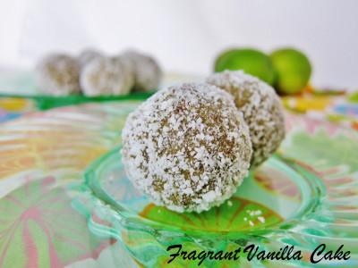Coconut Lime Doughnut Holes 1