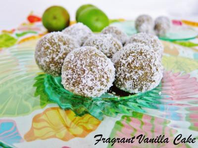 Coconut Lime Doughnut Holes