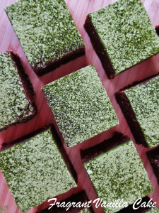 Matcha Mint Brownies 2
