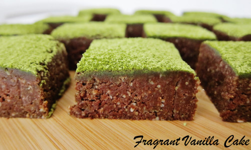 Matcha Mint Brownies 4