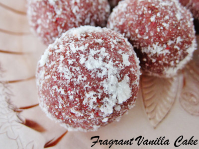 Raspberry Lemon Doughnut Holes 2