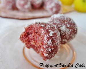 Raspberry Lemon Doughnut Holes 3