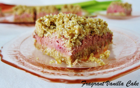 Strawberry Rhubarb Bars 2