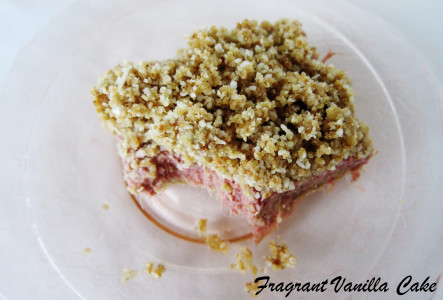 Strawberry Rhubarb Bars 3