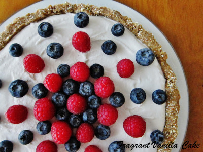 Berry Almond Tart 1