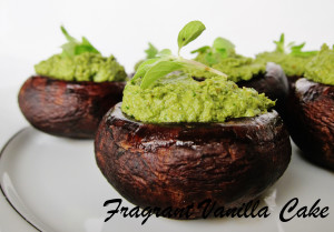 Pesto Mushrooms 3