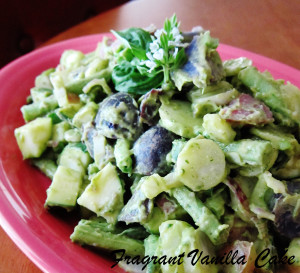 Avocado Potato Salad 2