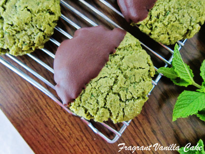 Basil Mint Sugar Cookies 1