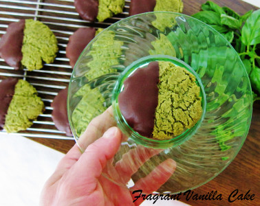 Basil Mint Sugar Cookies 3