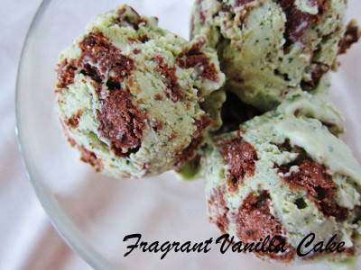Cookies and Cream Mint Ice Cream FV