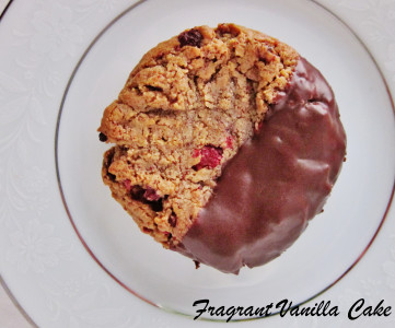 Hazelnut Raspberry Cookies 4
