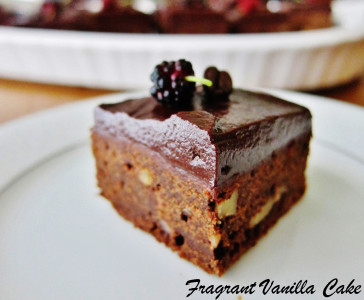 Mocha Walnut Brownies 4