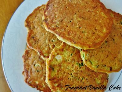 Savory Zucchini Cakes 2