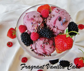 Triple Berry Cacao Bliss Ice Cream
