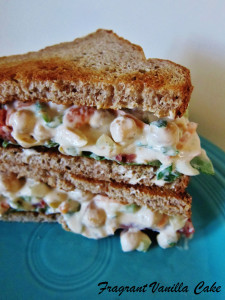 Chipolte Chickpea Salad Sandwich 4