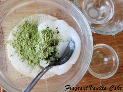 Green Tea Mint Scrub 1
