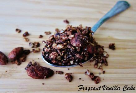 Mocha Almond Granola 1