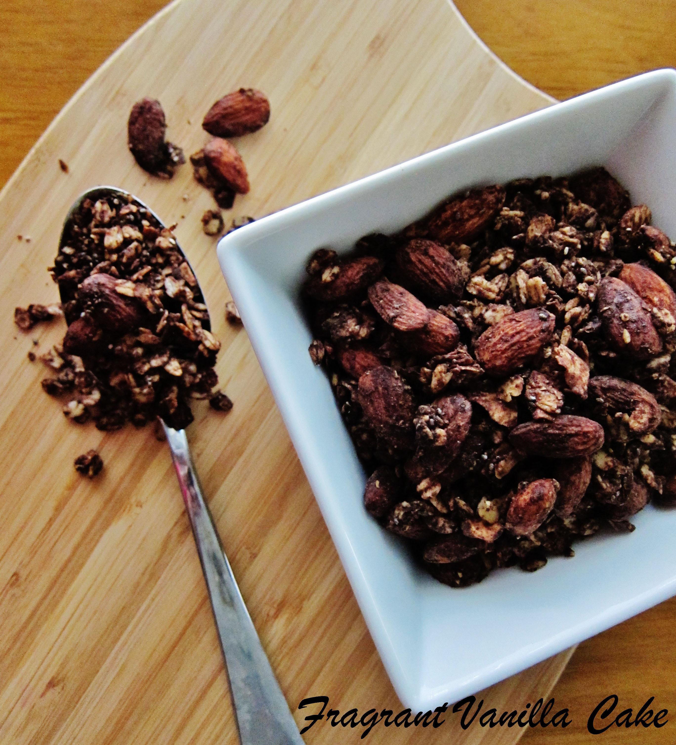 Vegan Mocha Almond Granola