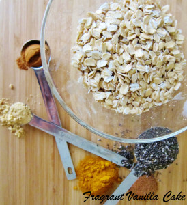 Spiced Oatmeal 1