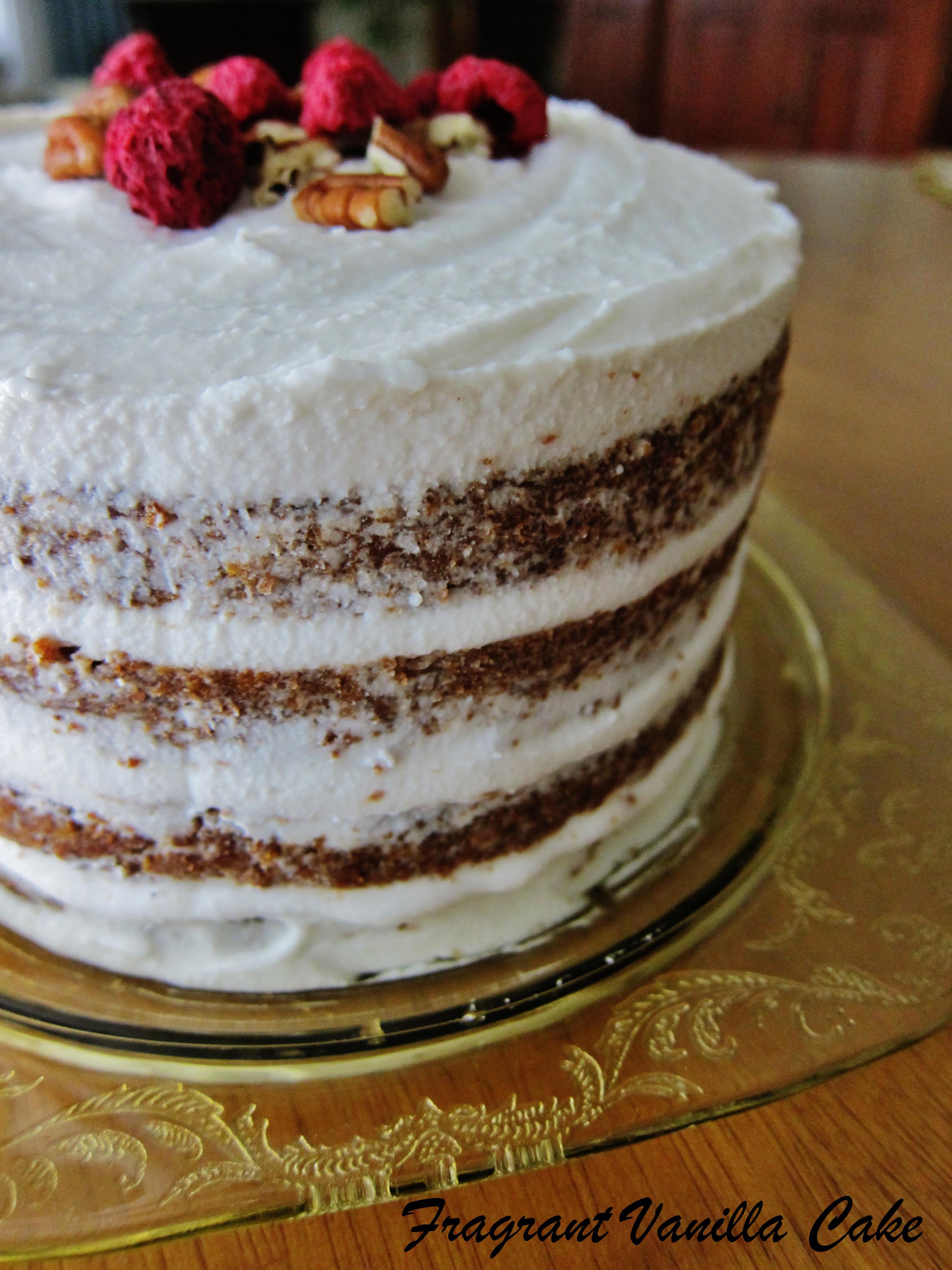 Vegan Summer Spice Cake (gluten free)