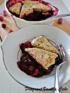 Triple Berry Cobbler 4
