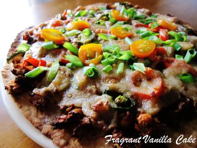 Vegan Chorizo Pizza 1