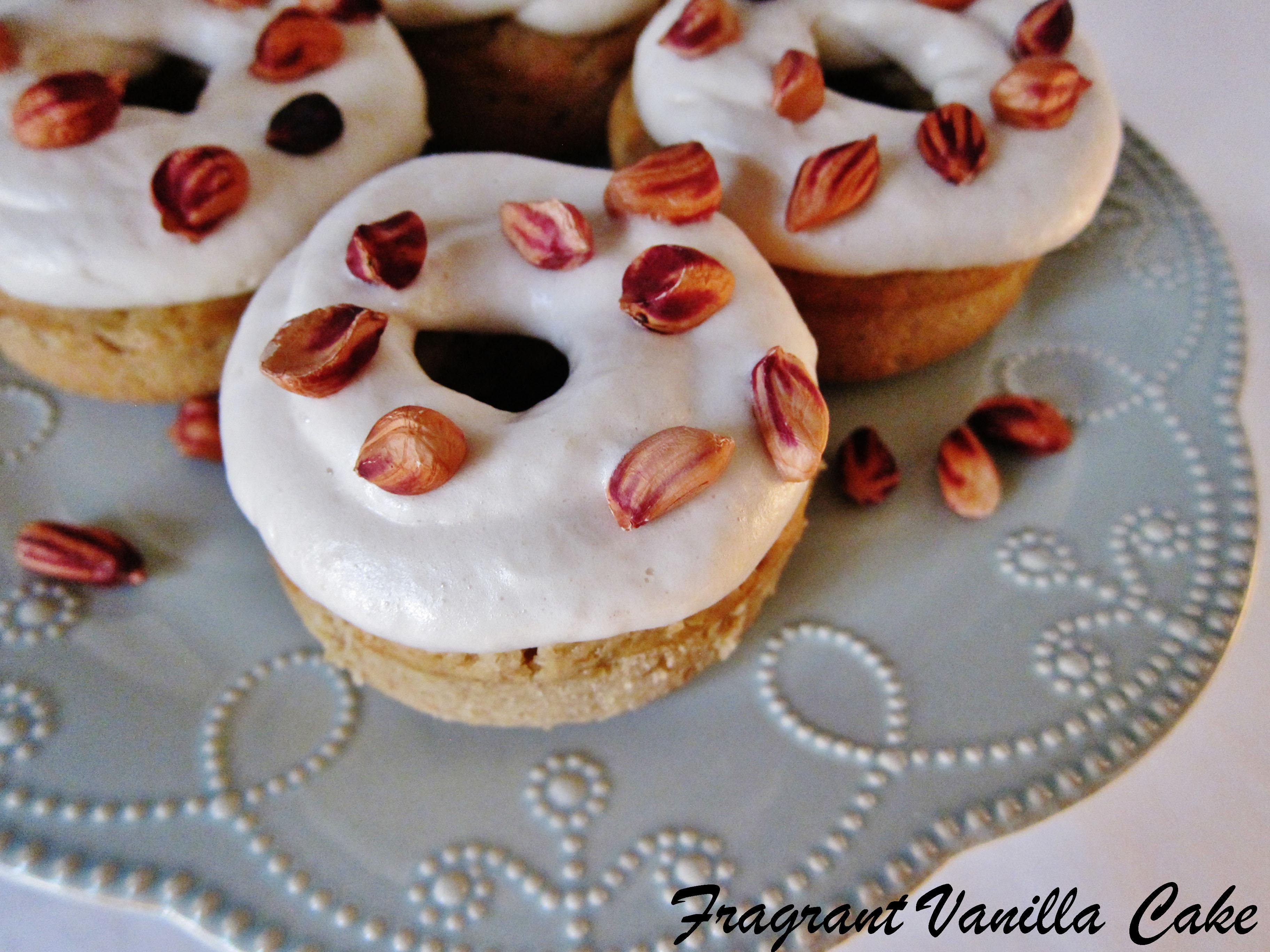 Vegan Fluffernutter Doughnuts