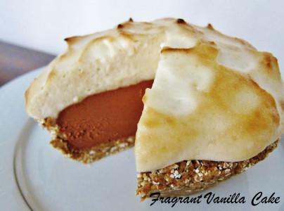Vegan S'mores Peanut Butter Pie 2