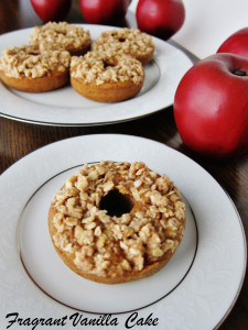 Apple Streusel Doughnuts 4