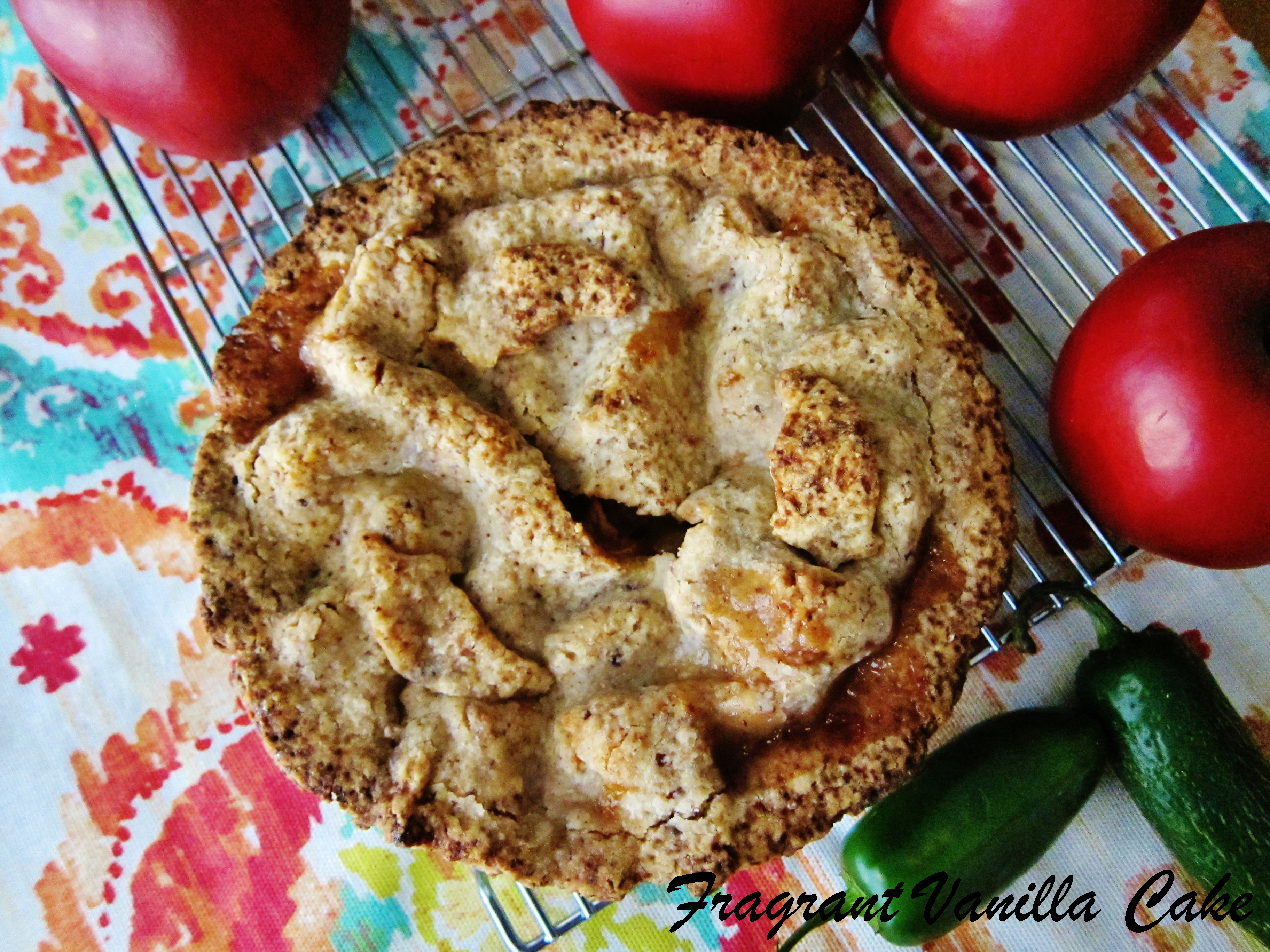 Vegan Firecracker Apple Pie