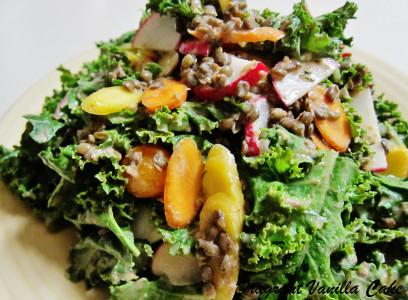 Lentil Kale Salad 2