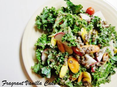 Lentil Kale Salad 3