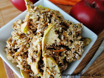 Raw Carrot Apple Granola 1
