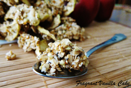 Raw Carrot Apple Granola 4