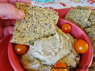 Roasted Tomatillo Hummus 2