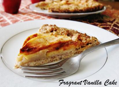 Vegan Apple Cream Cheese Galette 4