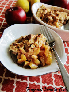 Vegan Apple Pear Pandowdy 1