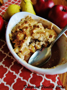 Vegan Apple Pear Pandowdy 2