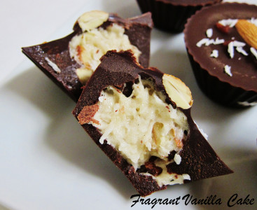 Vegan Cup O Gold (marshmallow almond coconut cups) 3