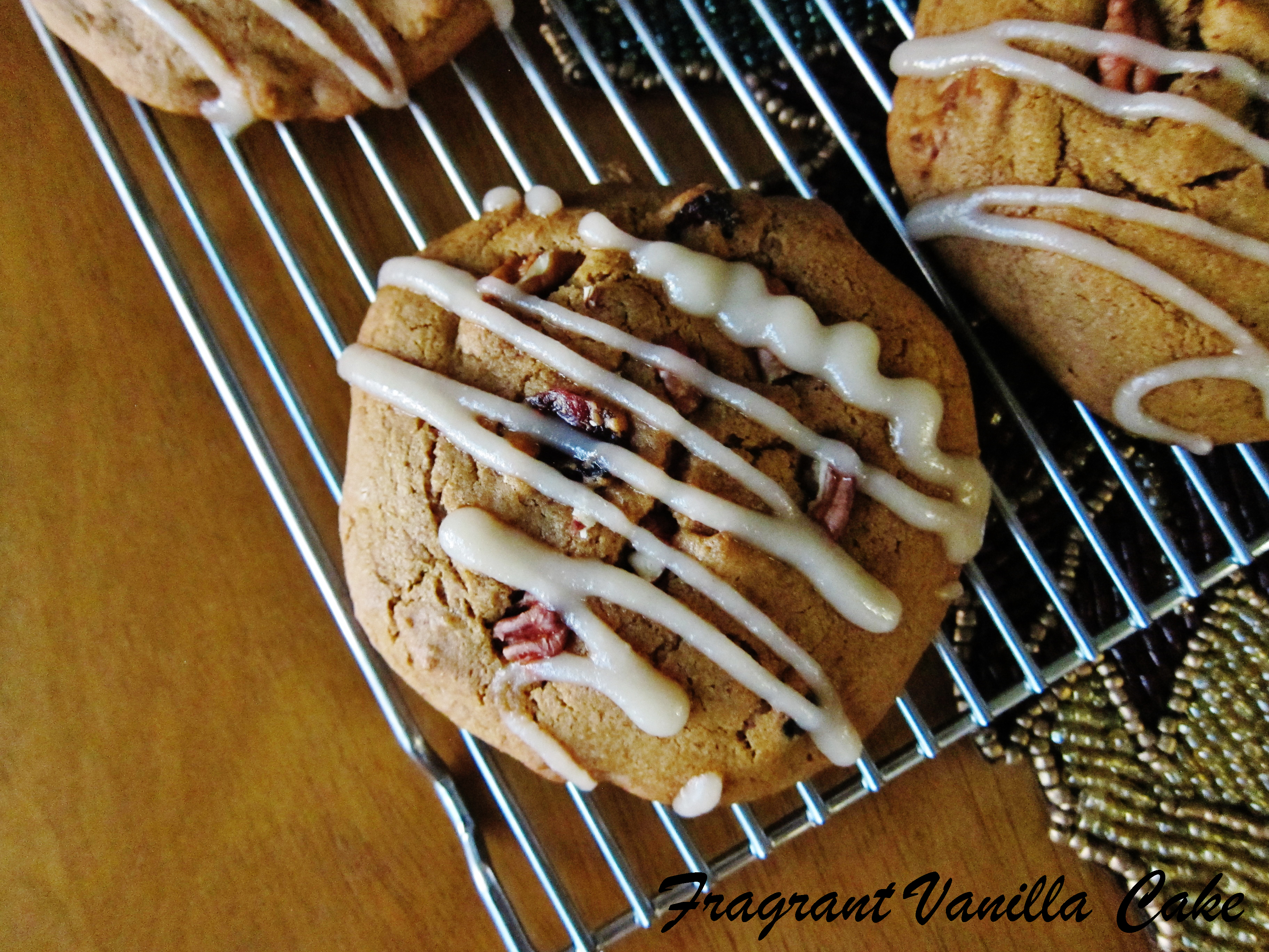 Vegan Maple Pecan Pumpkin Cookies