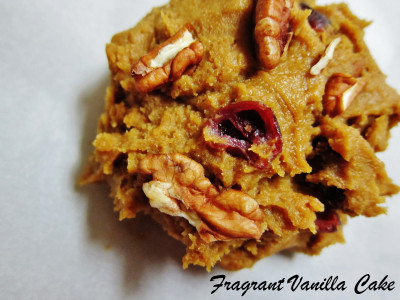 Vegan Pumpkin Maple Pecan Cookies