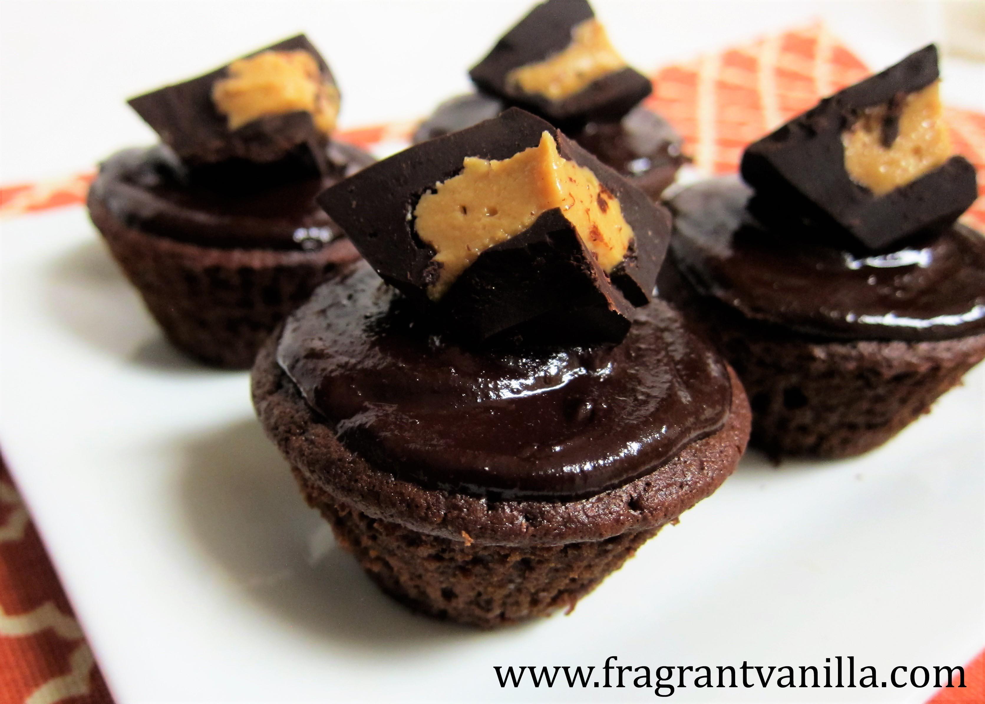 Vegan Peanut Butter Cup Cupcakes