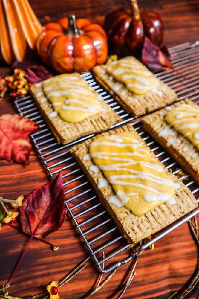 Vegan Pumpkin Pie Pop-Tarts