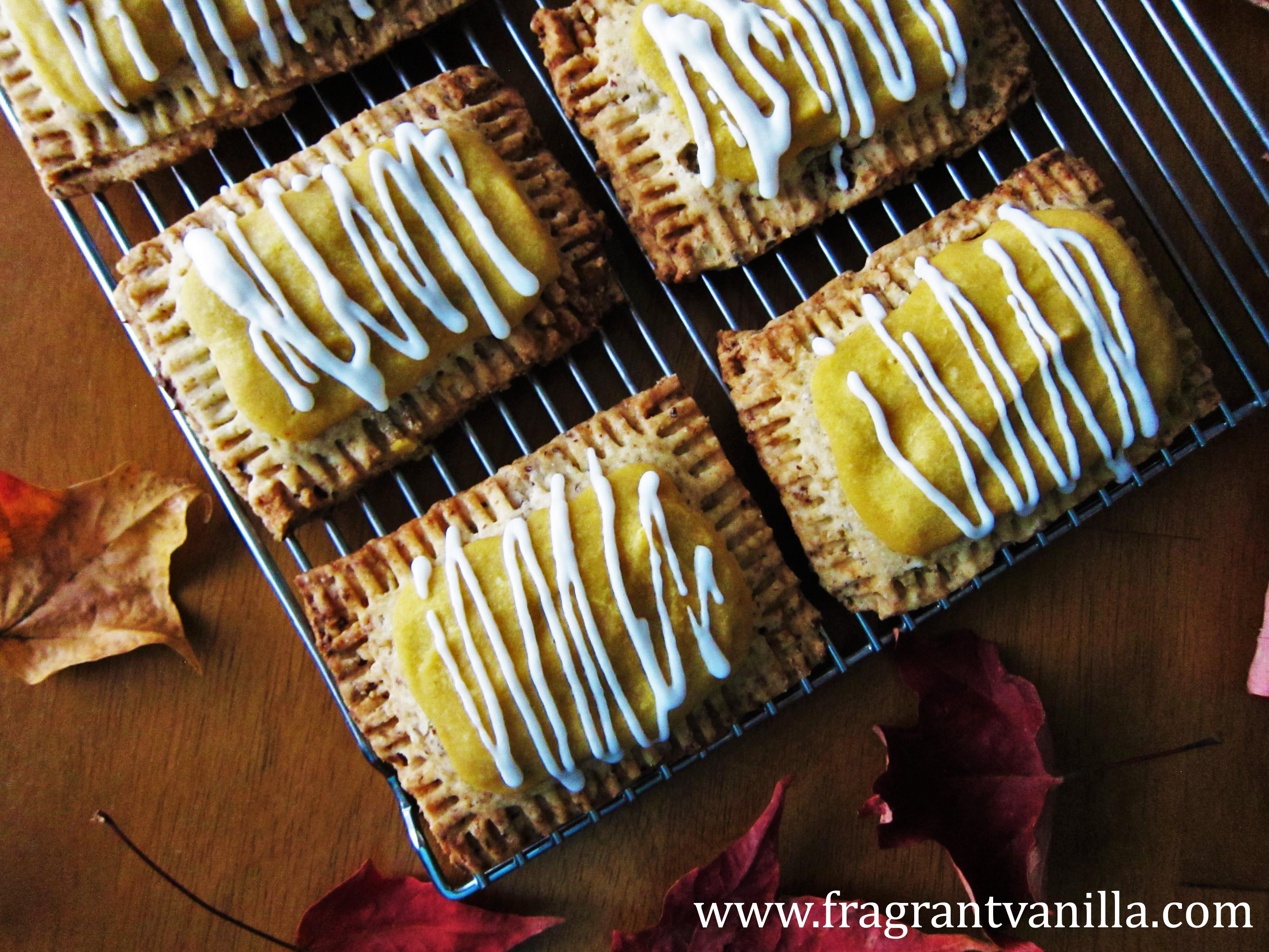 Vegan Pumpkin Pie Pop-Tarts