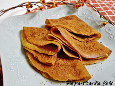 Pumpkin Spice Crepes 2
