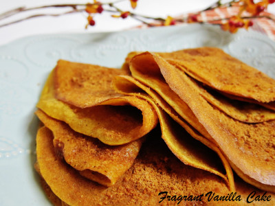 Pumpkin Spice Crepes 3