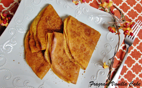 Pumpkin Spice Crepes 4