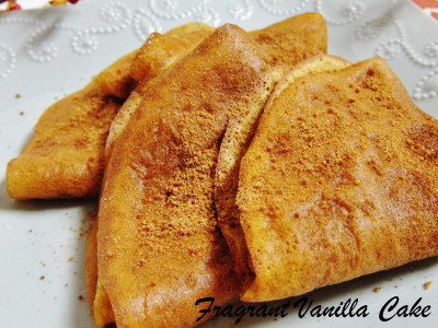 Pumpkin Spice Crepes