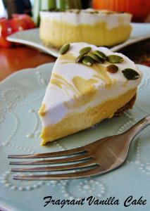 Raw Pumpkin Spice White Chocolate Cheesecake 4