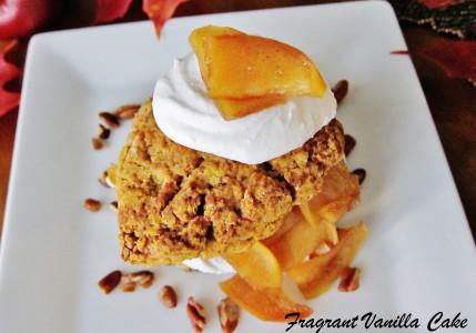 Vegan Pumpkin Apple Shortcakes 2